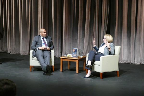 Cory Booker Interviews Claire McCaskill